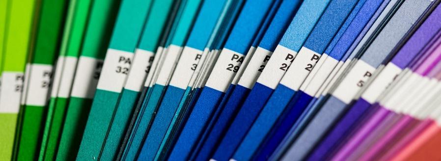 Photo of colourful file folders